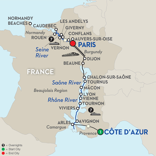 Avalon Waterways River Cruises Scenery Grand France