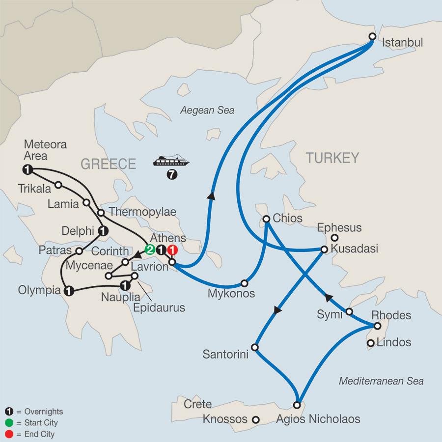 Globus Classical Greece Tour Reviews