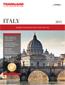 Trafalgar Tours - Italy Brochure