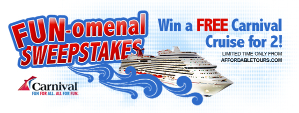 AffordableTourscom Latest Newsletter Edition  Enter To Win Our Free Carniva