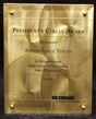 Presidents Circle Award Award