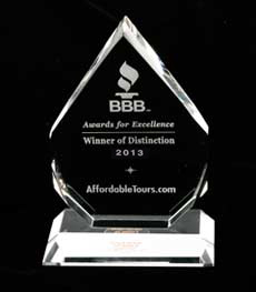 BBB Winner of Distinction 2013 Award
