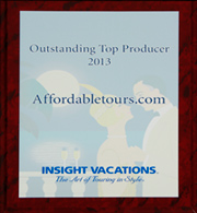 Outstanding Top Producer 2013 Award