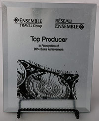 2014 Top Producer Award
