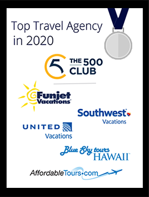 Top Travel Agency in 2020 Award