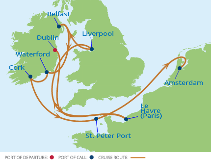 Virtuoso - Celebrity Cruises: British Isles