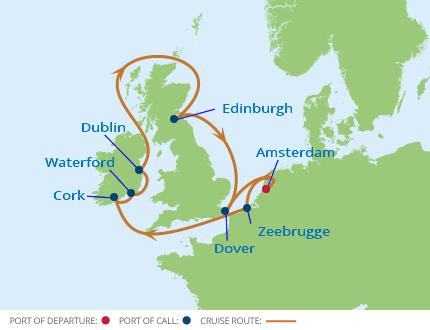 Cheap British Isles Cruises on CruiseCheap.com