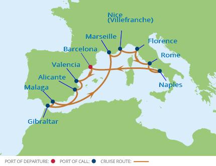 Celebrity Cruises: 12 Night French Riviera & Mediterranean ...