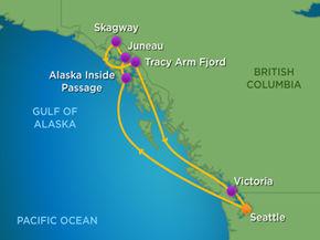 Royal Caribbean Cruises Explorer Of The Seas 7 Night Alaska Glacier Cruise Fri Jul 13 2018