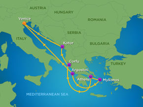 Click To Enlarge Map Cruise Line Royal Caribbean Cruises