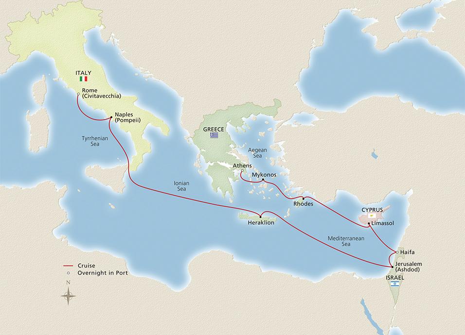 Viking Cruises Viking Sky Cities Of Antiquity Amp The
