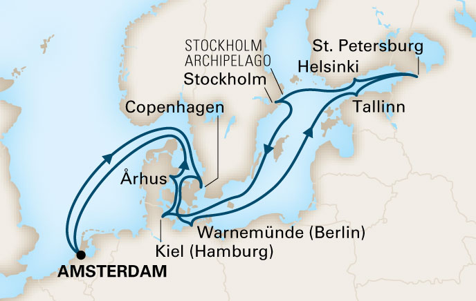 Holland America Cruises Nieuw Statendam 14 Day Jewels