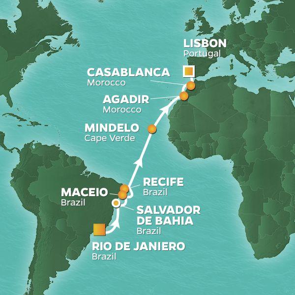 Low Unpublished Prices On Azamara Club - 17-night Portuguese Pursuit Voyage