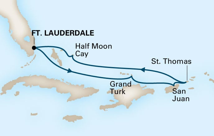Holland America Cruises Nieuw Statendam 7 Day Eastern