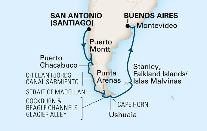 Holland America Cruises Zaandam 14 Day South America