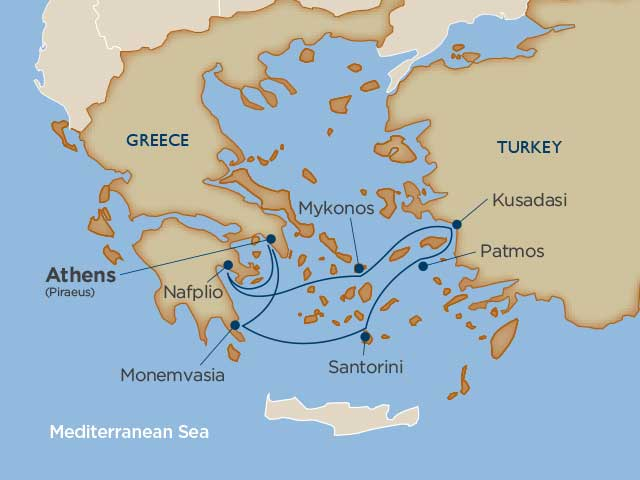 Windstar Cruises Star Pride 7 Night Greece Sat May 04 2019