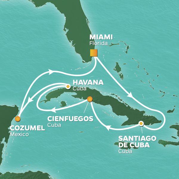 Low Unpublished Prices On Azamara Club - 11-night Cuba Intensive Voyage