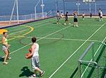 Basketball/Vollyball/Tennis Court