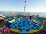 Sunset Aft Pool