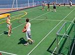 Basketball/Volleyball/Tennis Court