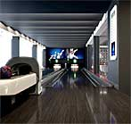Full Size Bowling Alley
