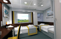 Category Cabin Main Deck Deluxe