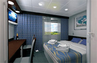 Category Cabin Boat Deck Deluxe