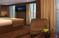 Category Upper Deck - Deluxe Balcony Suite