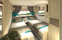 Category Comfort Twin Middle Deck