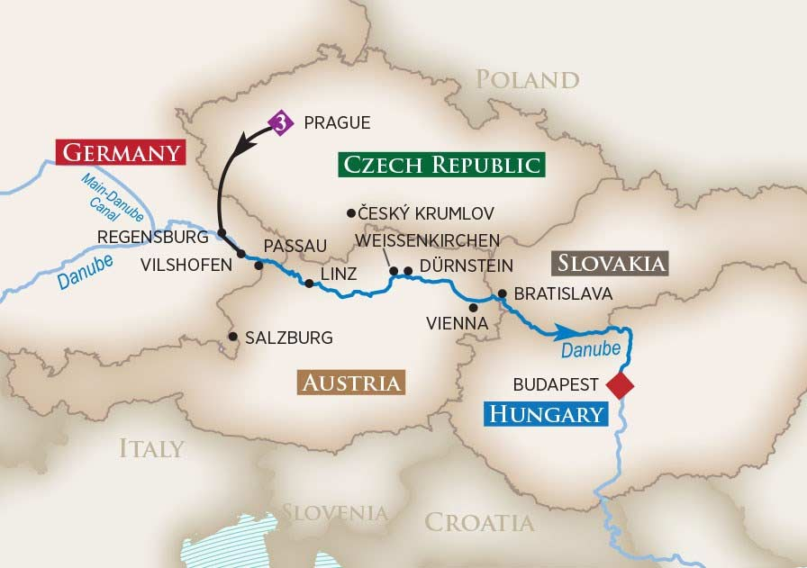 Viking River Cruise Prague To Budapest Pied Piper Travel