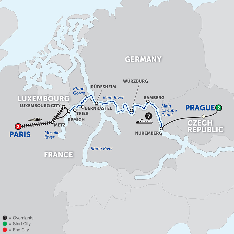 Avalon Waterways River Cruises Visionary Central European