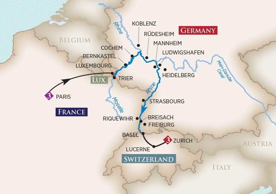 Amawaterways River Cruises Amadante Rhine Amp Moselle