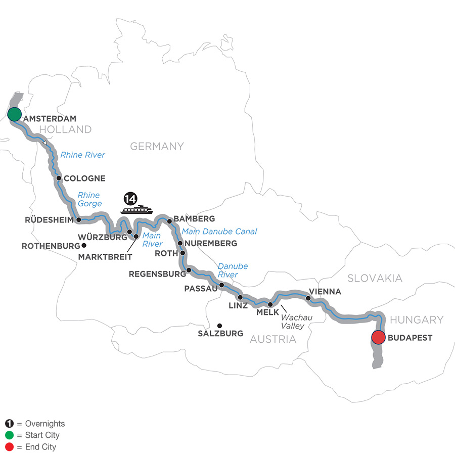 Low Unpublished Prices On Avalon Waterways - Magnificent Europe - Eastbound  2019