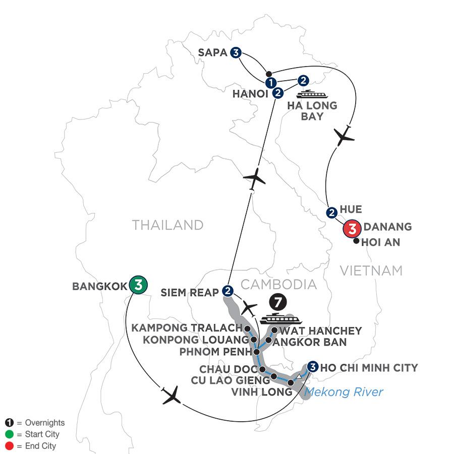 Avalon Waterways River Cruises : Saigon : Ultimate