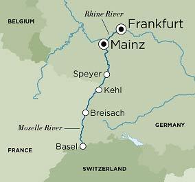 Crystal River Cruises Crystal Bach Rhine Serenade Frankfurt To