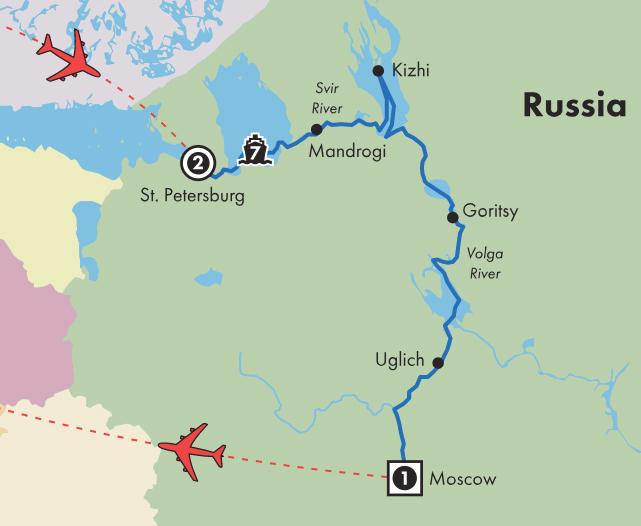 Gate1 River Cruises Ms Mstislav Rostropovich 12 Day First Class
