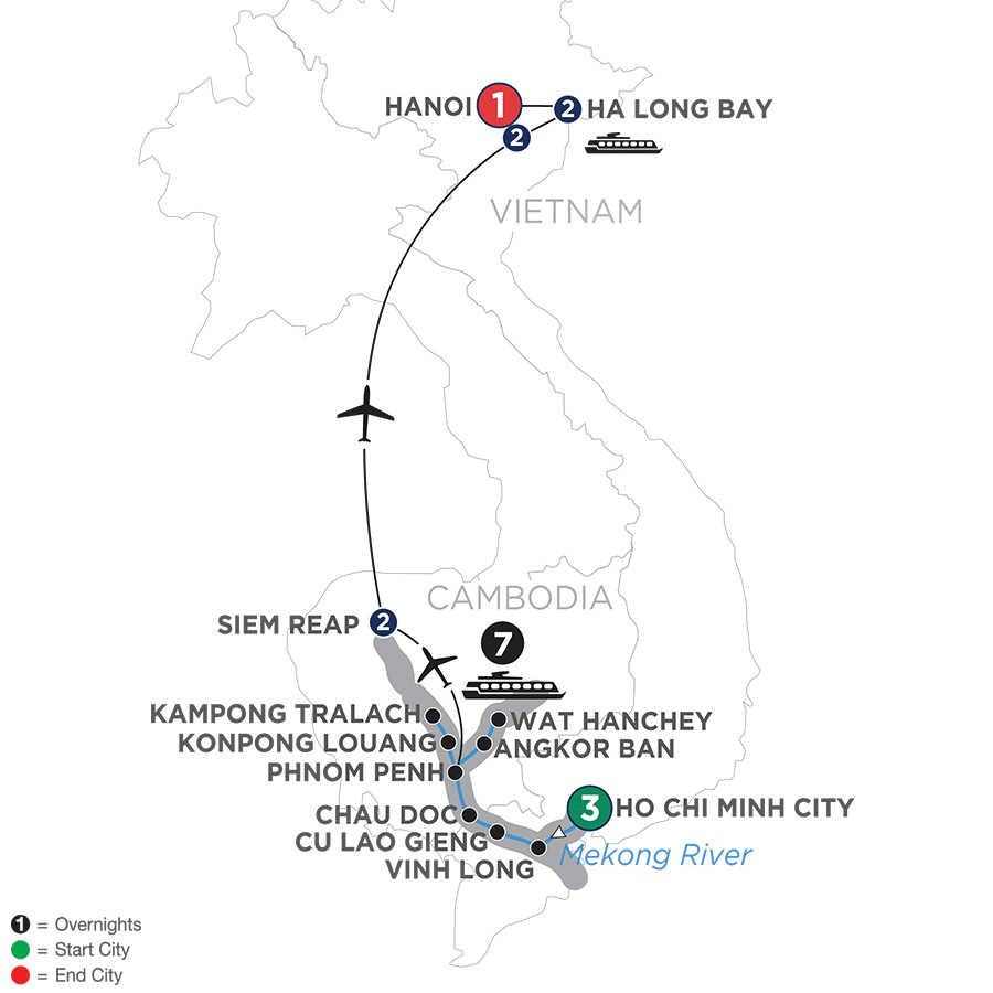 Low Unpublished Prices On Avalon Waterways - The Heart of Cambodia &  Vietnam – (Northbound) 2020