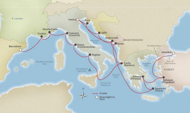 Image Gallery European Cruises 2015