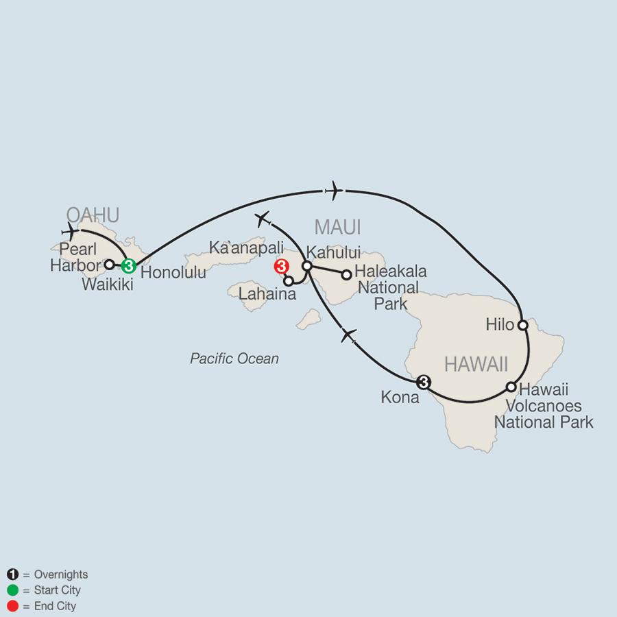 Globus Tours Best Of The Hawaiian Islands 2018