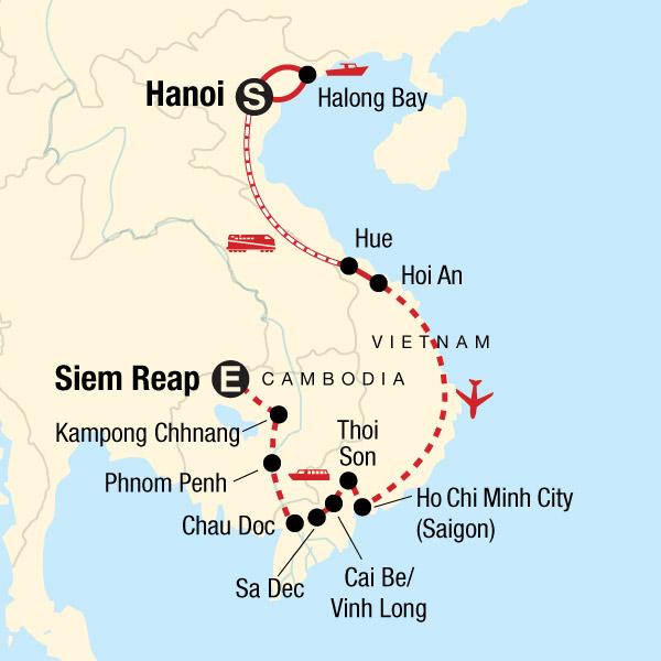 G Adventures Tours: Classic Vietnam & Mekong River Adventure