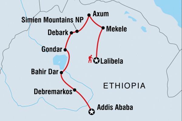 Intrepid Tours Incredible Ethiopia Timket Festival