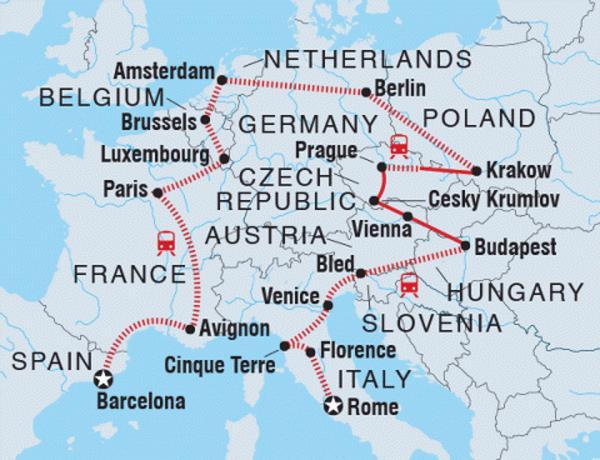 Intrepid Tours Europe Explorer