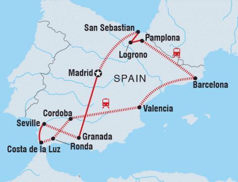 764510ffe8d Intrepid Tours: Classic Spain