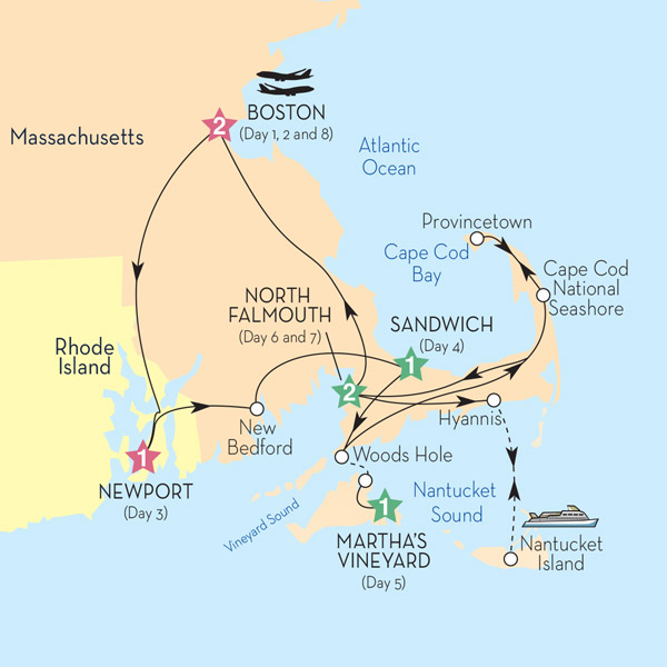 Insight Vacations Tours: Boston Cape Cod And The Islands