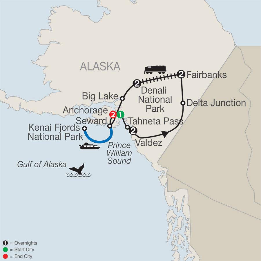Globus Tours Spectacular Alaska 2018
