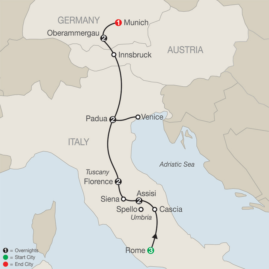 Globus Tours: Grand Catholic Italy With Oberammergau 2020