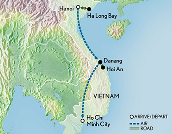 Abercrombie Kent Tours Tailor Made Vietnam North To South 2018
