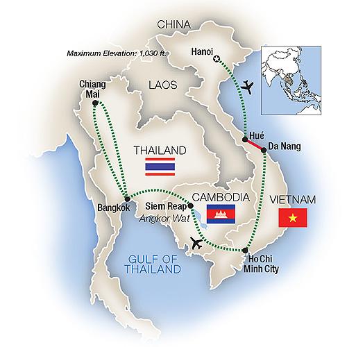 Tauck Tours Vietnam Cambodia Thailand 2019