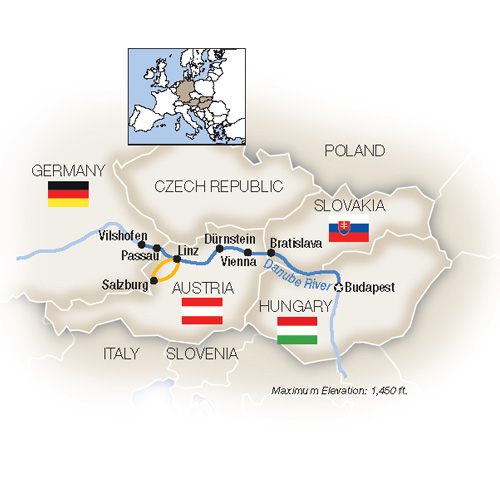 Low Unpublished Prices On Tauck - Blue Danube: Family Riverboat Adventure -  Westbound 2019