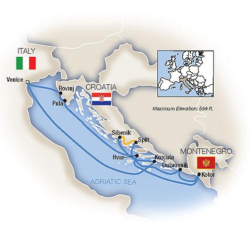 Tauck Tours: Venice & the Dalmatian Coast 2019 on